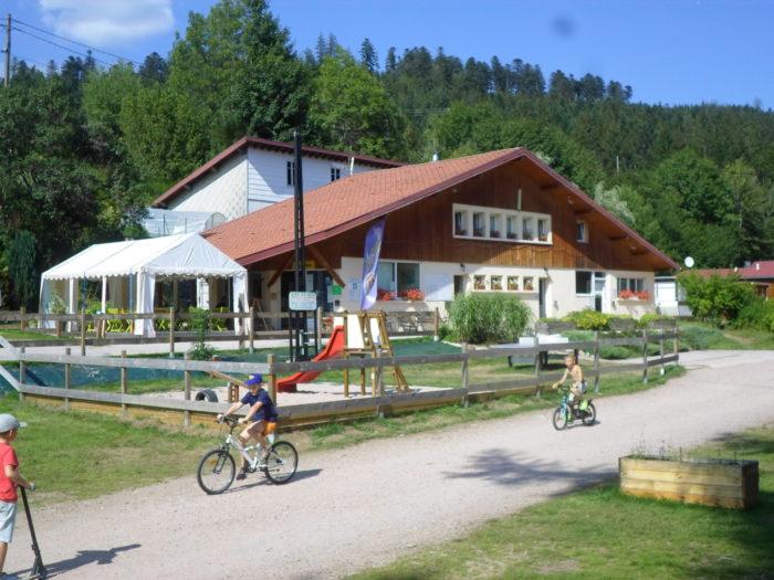 Camping à l'eau Vive dans les Vosges