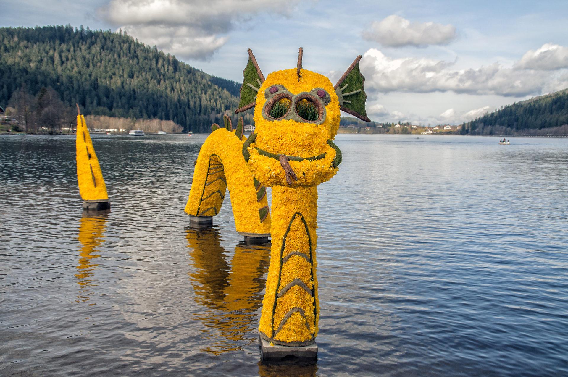 Tous les deux ans à la mi-avril, est organisée à Gérardmer « la fête des jonquilles ».