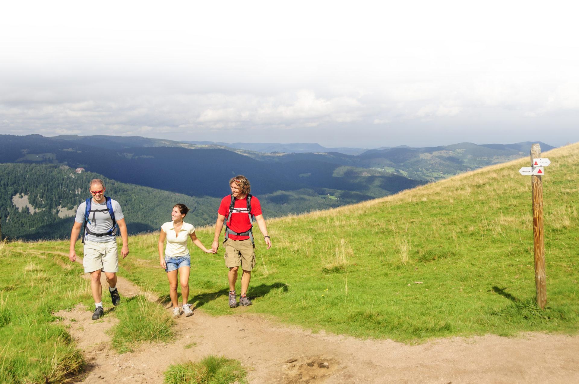 Promenade sur les Cretes dans le massif des Vosges